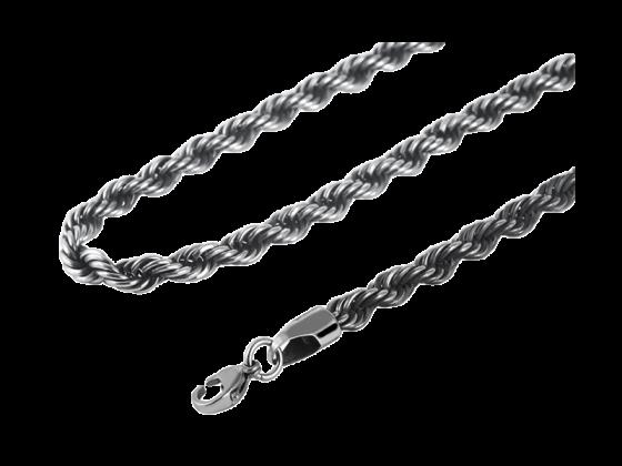 Juna - Halskette gekordelt (Edelstahl)