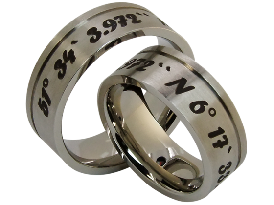 Juno- a coordinate ring (stainless steel)