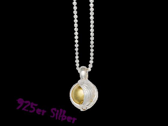 Klangkugel kleine Himmelspforte (925 Silber)