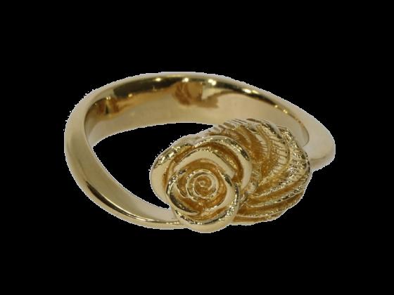 Ring Rosenblüte (925 Silber)