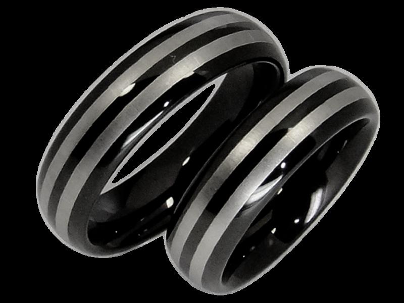 Partnerringe wolfram  Ringe aus Wolfram - kwo-trauringe