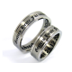 Vincent - a pair of rings (stainless steel)