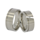 Cary - a pair of rings (stainless steel)