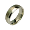 Hero - a pair of rings (stainless steel & titanium)