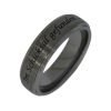 George - a unisex pair of rings (tungsten)