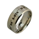 Dante - a coordinate ring (stainless steel)